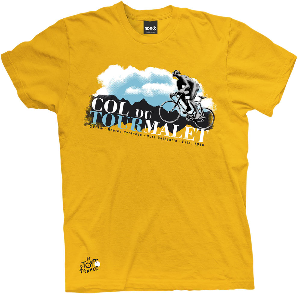 Yellow bicycle t shirt shopping cart catalog demo for Make photo t shirt online
